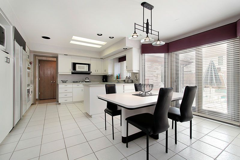 Calacatta Marble In The Home Beautiful Modern Dining Room
