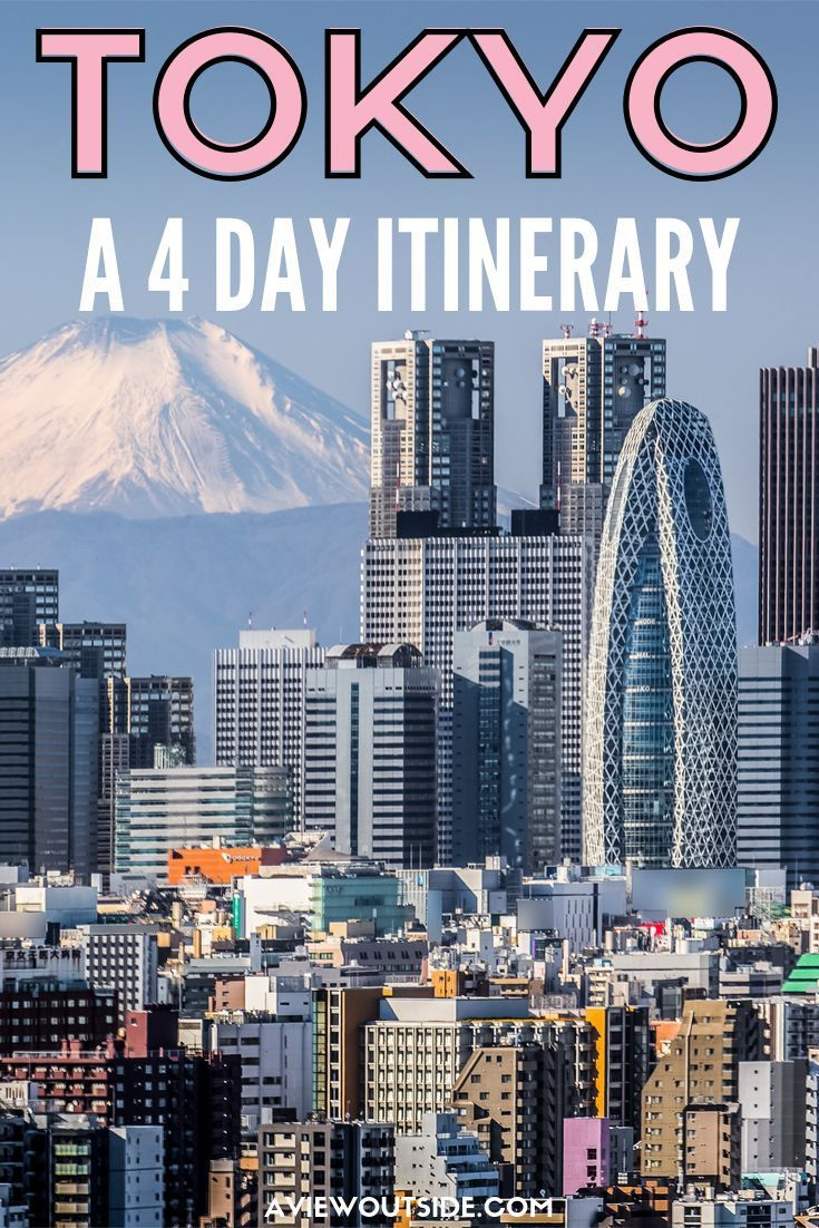 4 days in Tokyo: The Perfect Itinerary