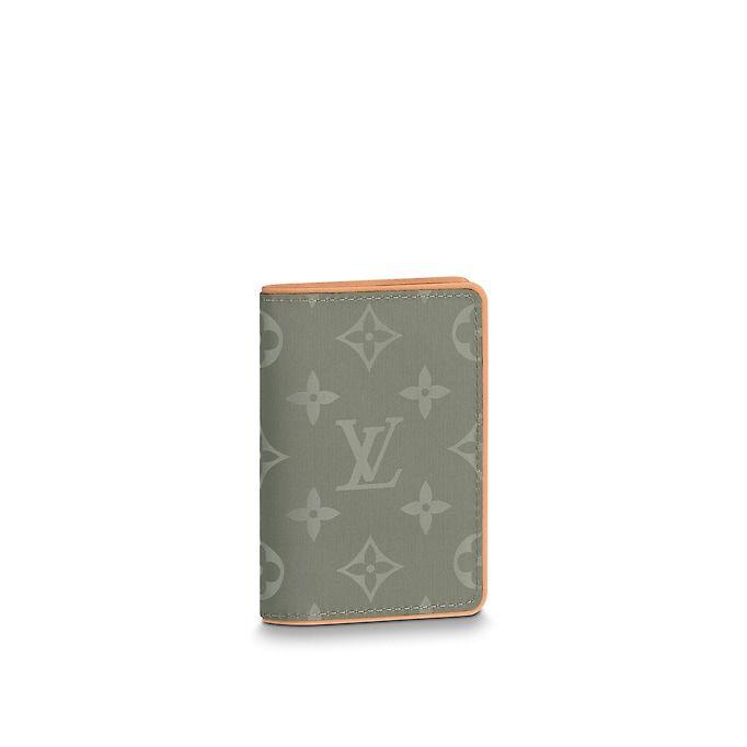 39b3d9ed98e47 View 1 - Monogram Titanium SMALL LEATHER GOODS Key and Card Holders Pocket  Organizer