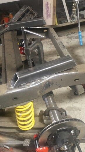Bridging frame for C notch | 1967 Chevrolet shop truck | Pinterest ...