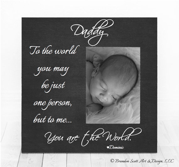 Fathers Day Gift From Daughter Son Fathers Day Frame