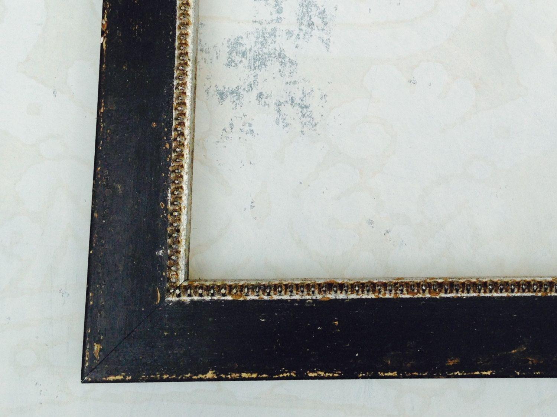 Shabby Chic Black Picture Frame 4x4, 4x6, 5x5, 5x7, 8x8, 8x10, 8.x11 ...