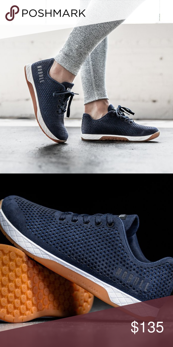 NOBULL Suede navy trainers shoes