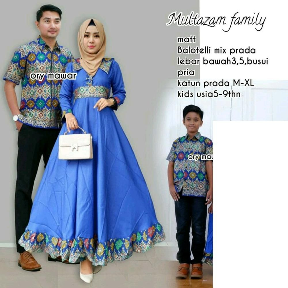 batik couple multazam kombinasi sarimbit keluarga jual model baju ... 1165343905