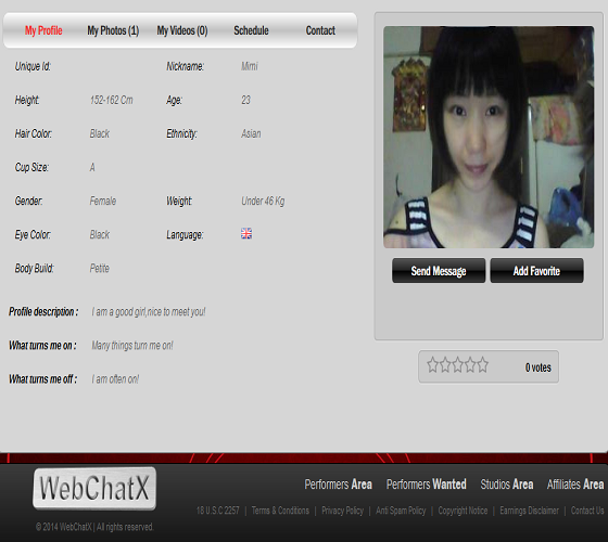 WebChatX: Mimi (Webcam)