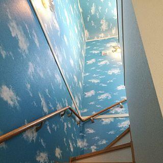 踊り場 階段 天井クロス の画像検索結果 天井 踊り場 クロス