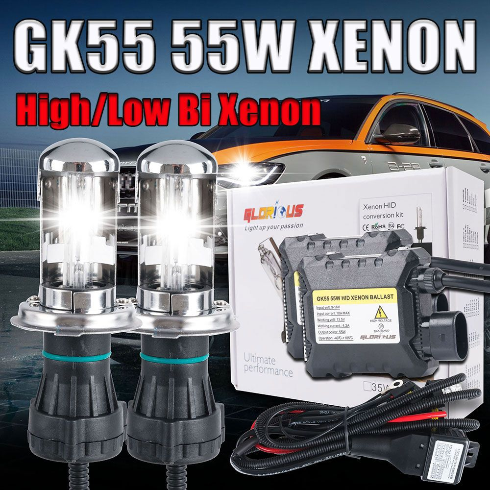 hight resolution of  quality product12v 55w h4 bi xenon lamp kit 9004 9007 h13 h4 hid hi