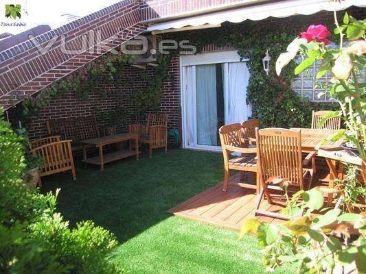 construccion de jardines en terrazas Diseo de interiores jardn