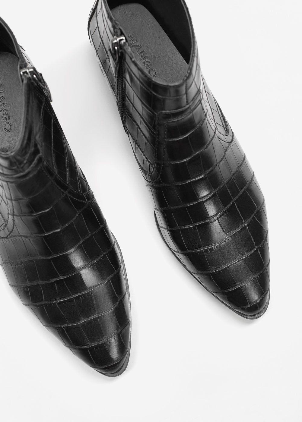 Bottines Effet Croco Femme Shoes Pinterest Botins Botas And