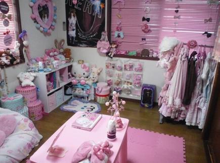 kawaii sweet lolita room. beautiful ideas. Home Design Ideas