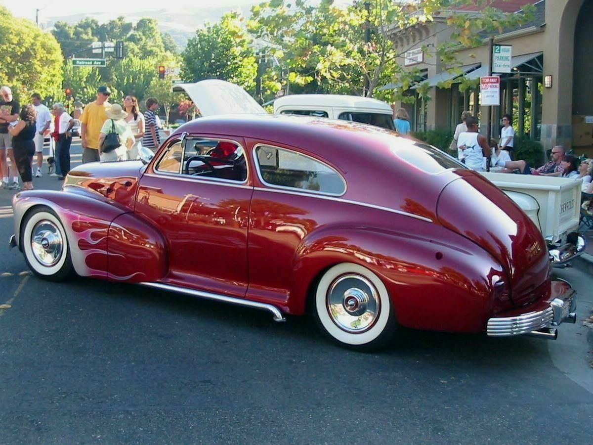 1947 Chevy Fleetline 1947 Chevrolet Fleetline Custom Re Pin