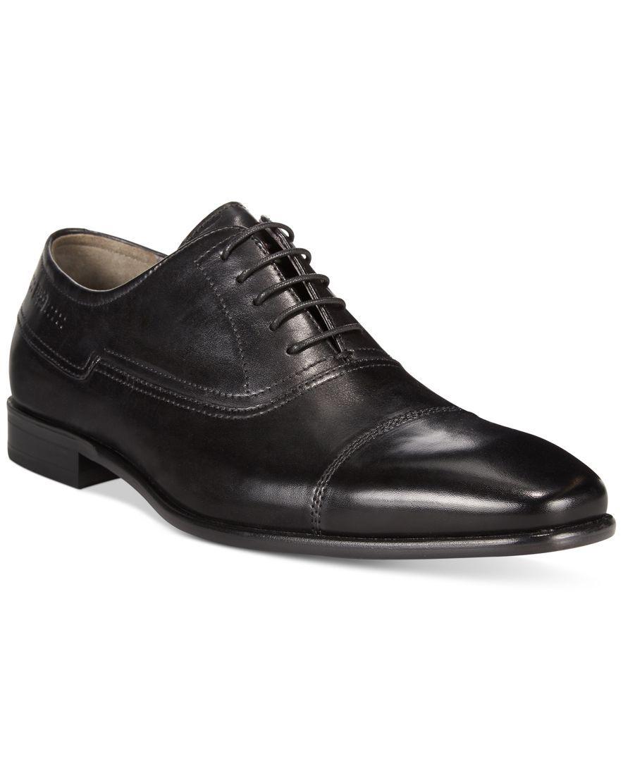 018543e550f Hugo Boss C-Hudox Cap-Toe Lace-Up Dress Shoes