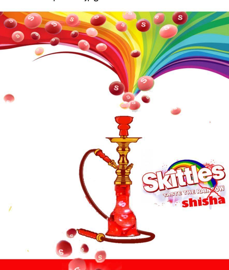 Now serving!! Red Skittles #happydays #shisha #hookah #exclusive ...