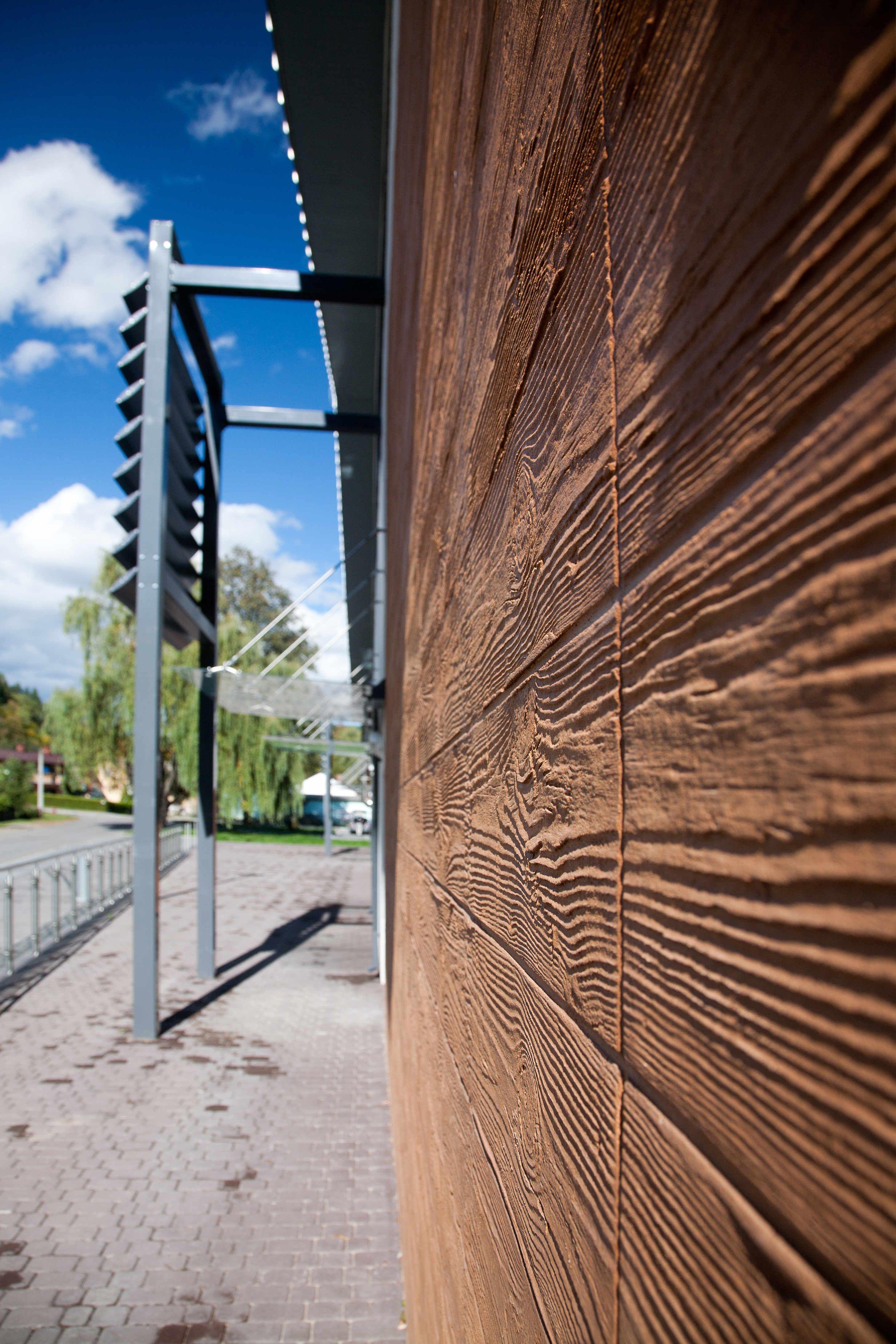 Ceresit Visage Tynki I Farby Elewacyjne Z Efektem Drewna Dobre Budowanie Budowa Domu Pod Klucz Internetowy Serwis Budowlany Material
