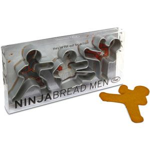ninjabread men cookie cutter.