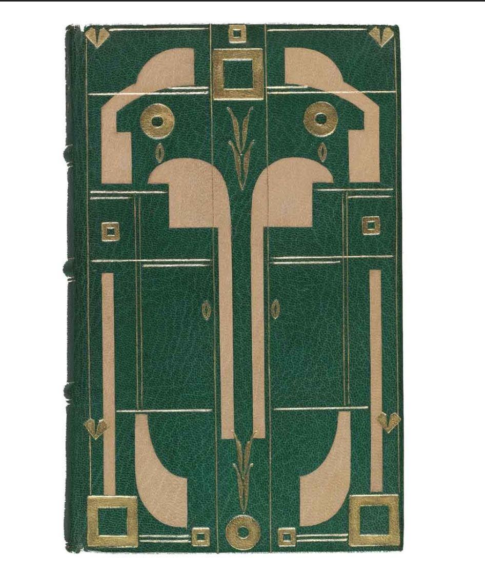 Pin By B R On Art Deco Book Bindings