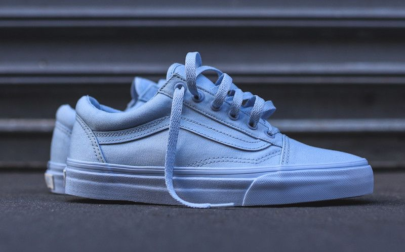 Sneakers femme - Vans Old Skool Mono Pack blue (©kith) a2d4f8be14