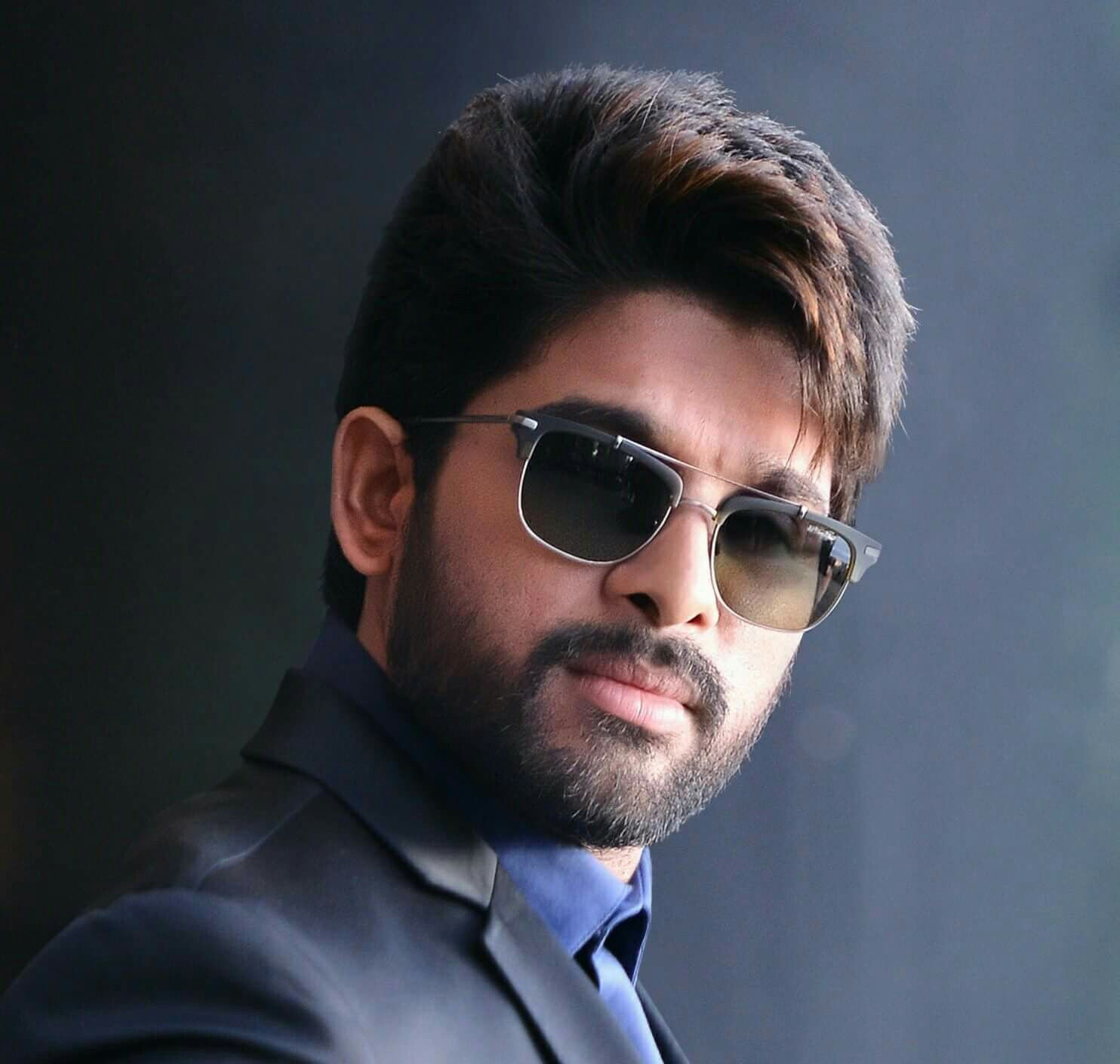 beard and mustache style are new trending fashion allu arjun
