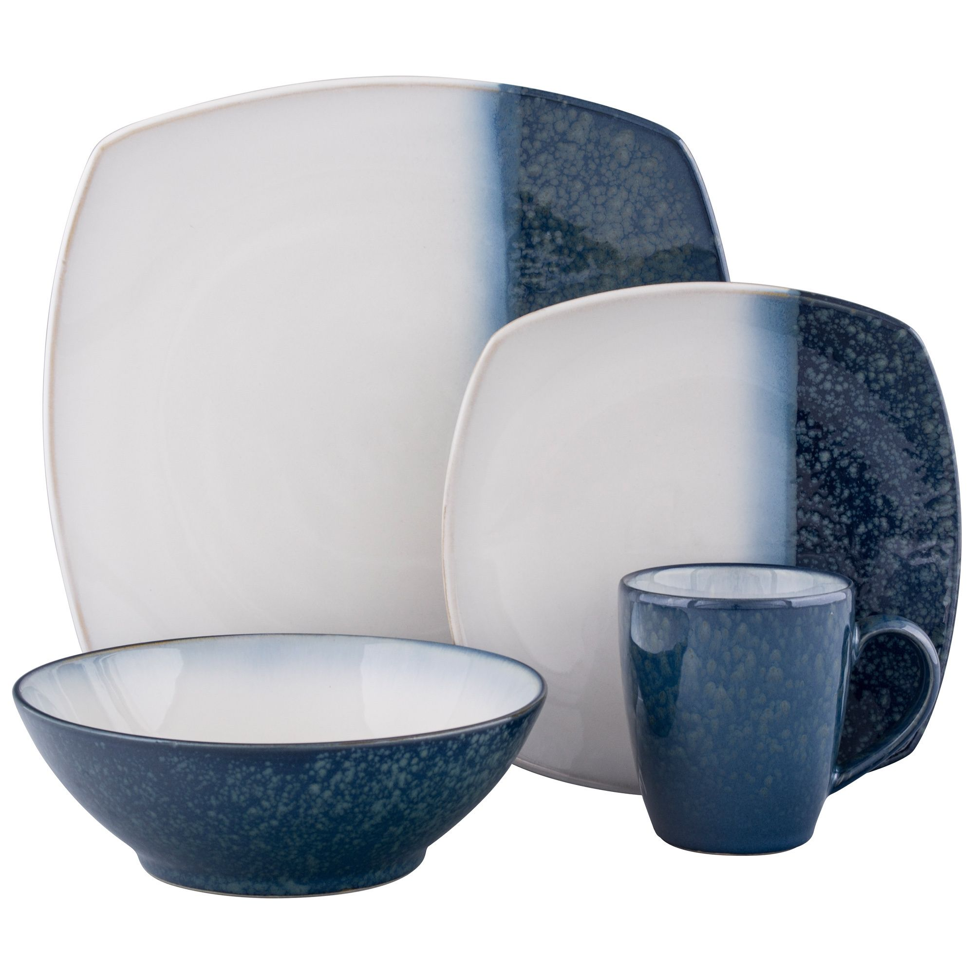 Casual Dinnerware For Less  sc 1 st  Pinterest & Designed by Sango this beautiful 16-piece dinnerware set adds ...