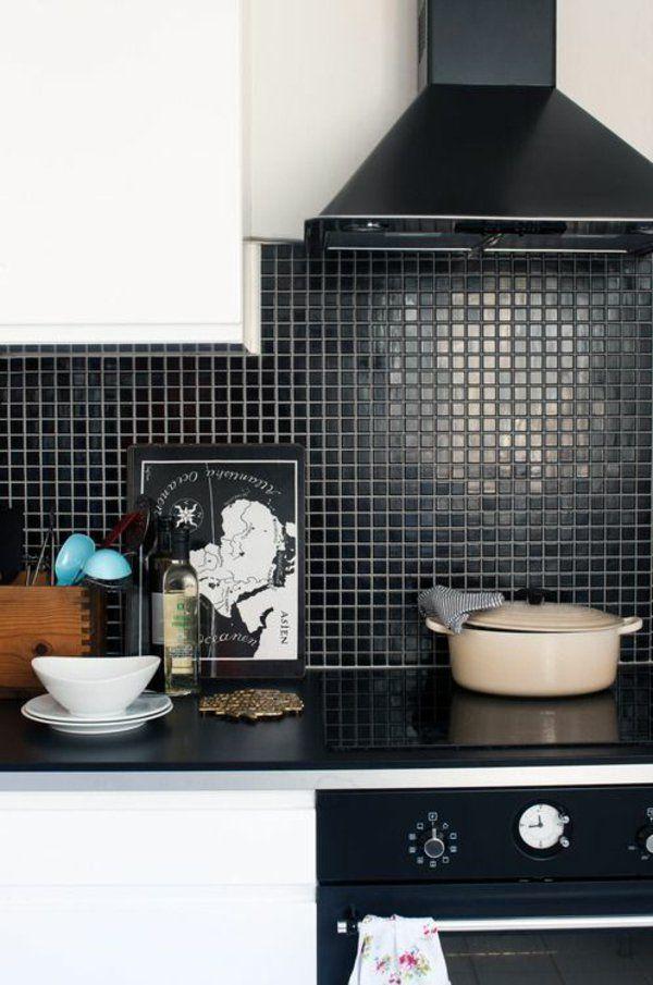 Küchenrückwand Ideen - Mosaikfliesen in der Küche | küche ...