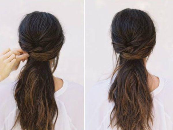 Los 20 Peinados Mas Faciles Y Rapidos Para Estar Perfecta - Peinados-simples-y-rapidos