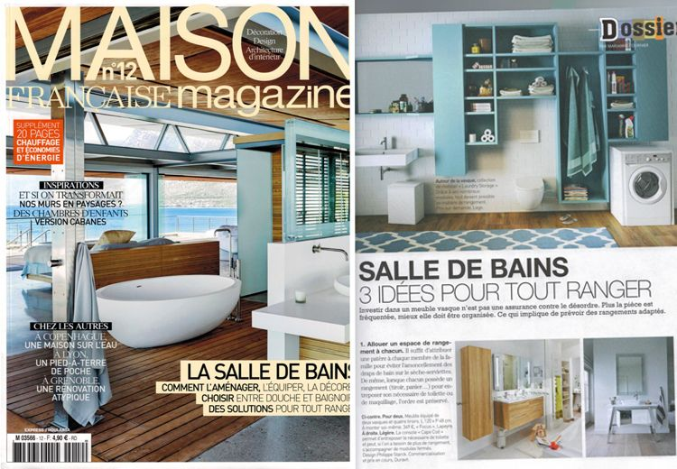 blog post lago dans la presse nos rangements de salle de bains