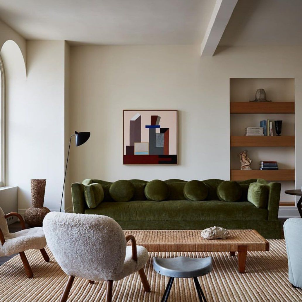 "Fiona Fidder on Instagram: ""Gorgeous interior by @studiogiancarlovalle #perfectartchoice #interiors #interiordesign #architecture #midcentury #midcenturymodern #prouve…"""