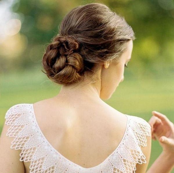 Penteado para noivas: tranças que estão em alta