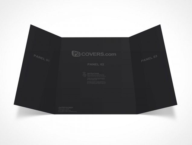 PSD Mockups http\/\/wwwpsdcovers\/ 1 \/\/\/ free sources - gate fold brochure mockup