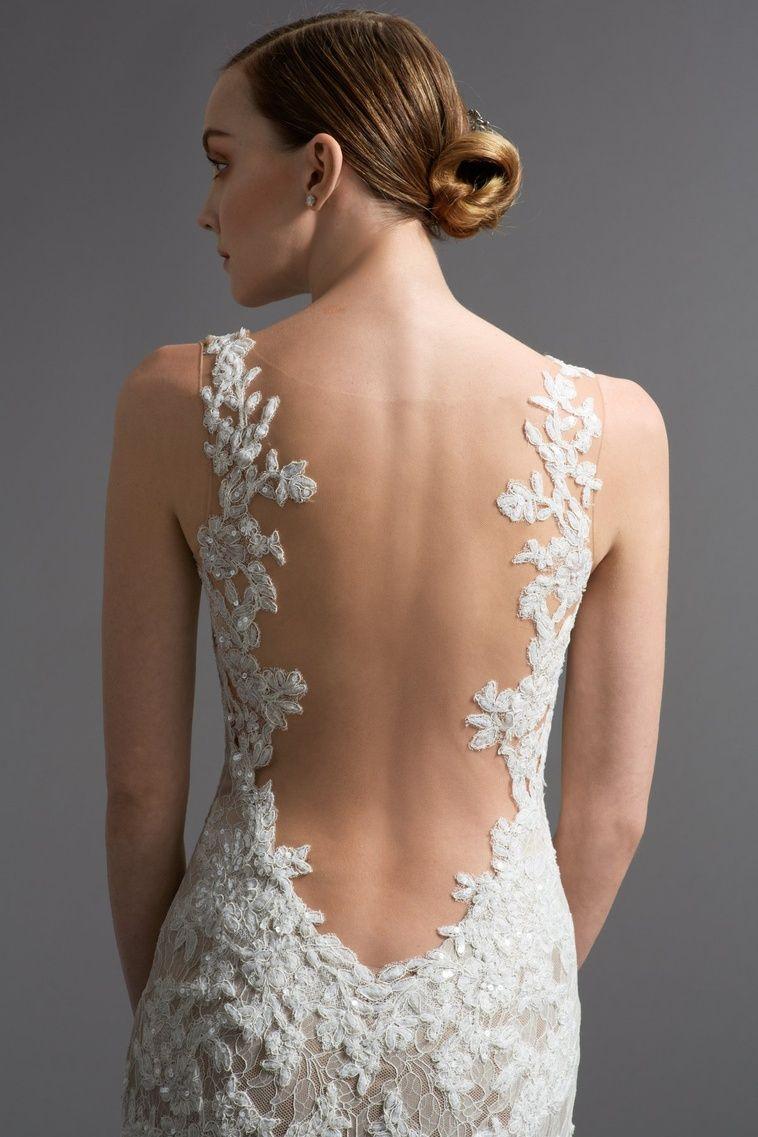 Brown wedding dresses  Cinzia  Final Bride Look Day Of  Pinterest