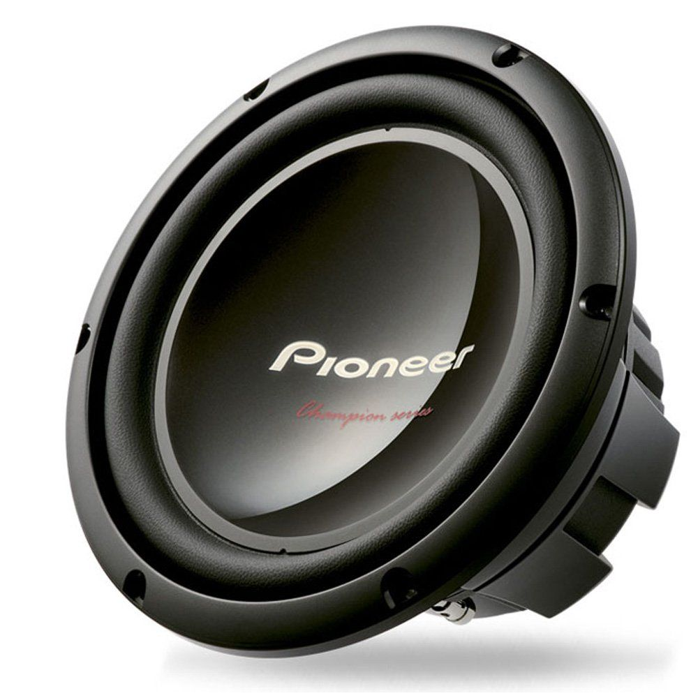Pioneer Ts W309d4 Champion Series 12 Inch Dual 4 Ohm 1 400 Watt Subwoofer Car Stereo Systems Marine Electronics Subwoofer