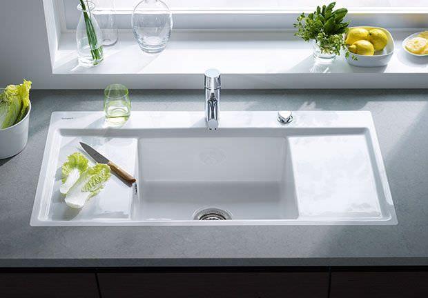 Ceramic Kitchen Sink Kiora Z 752210 Duravit
