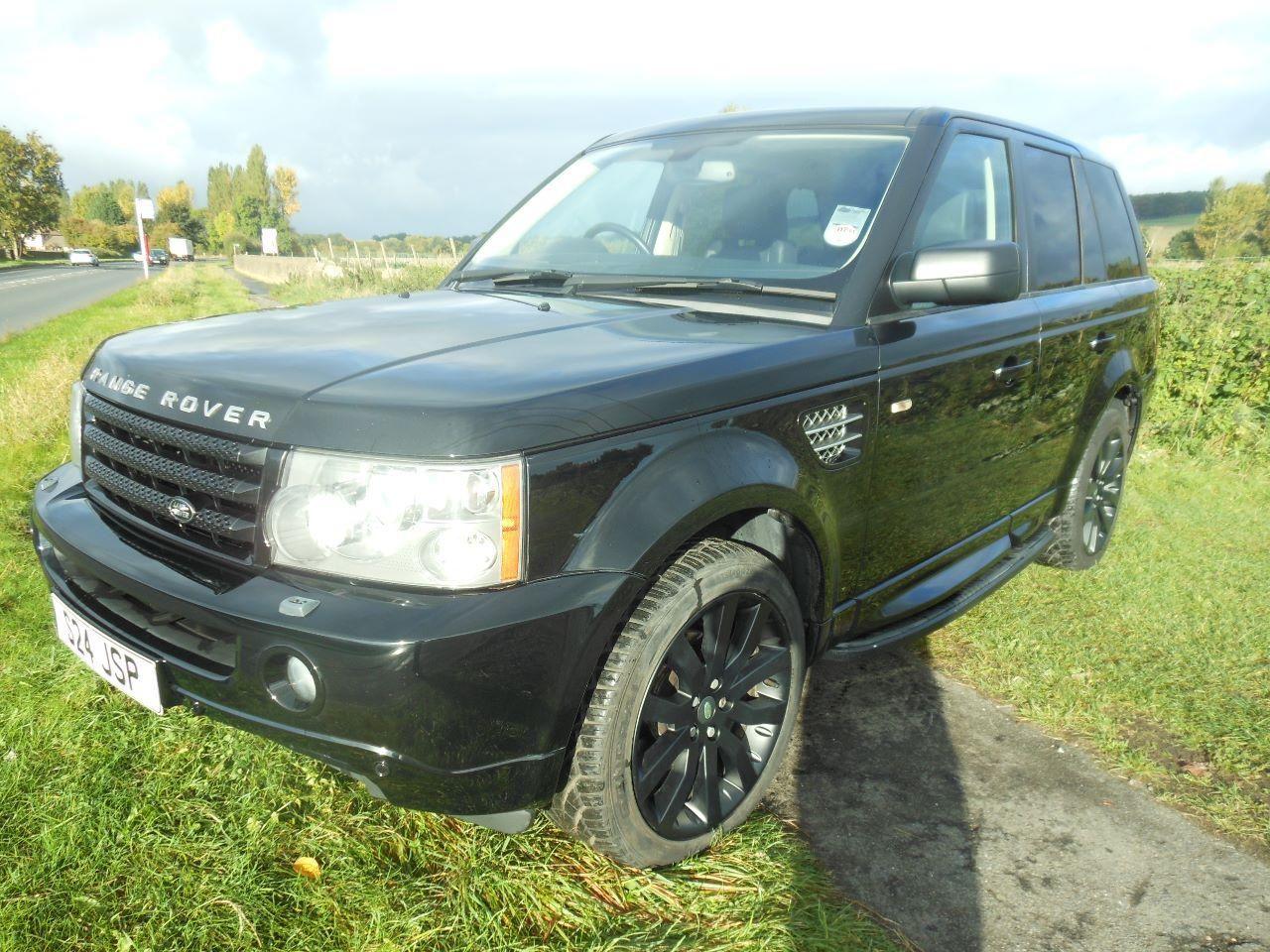 2006 Range Rover Sport 2.7 HSE auto 4x4. Black. FSH. Click