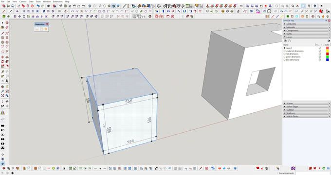 Brighter 3D has developed Auto Magic Dimensions for sketchup