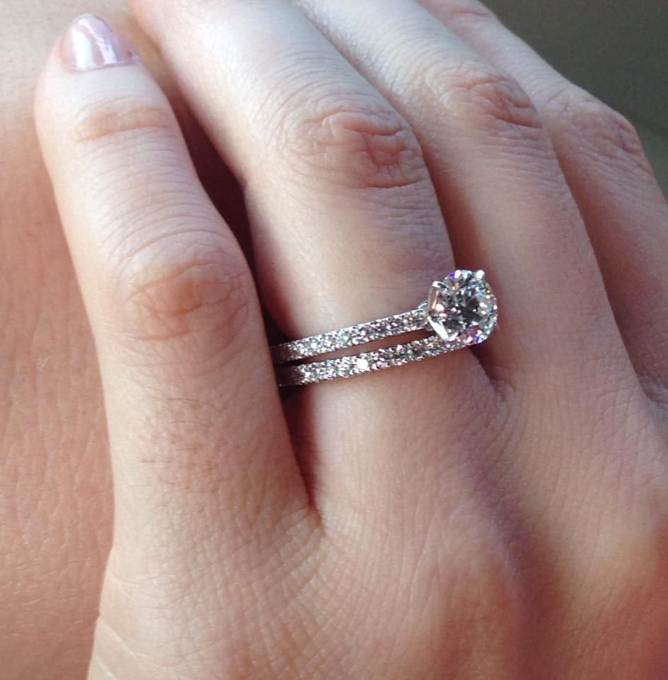 Photos Of Brian Gavin Diamonds Bobbi Jo Beljan Flynn Facebook Bridal Ring Sets White Gold Solitaire Engagement Ring Wedding Ring Sets