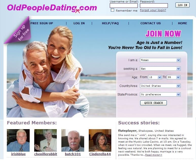Dating site for poeple over 50