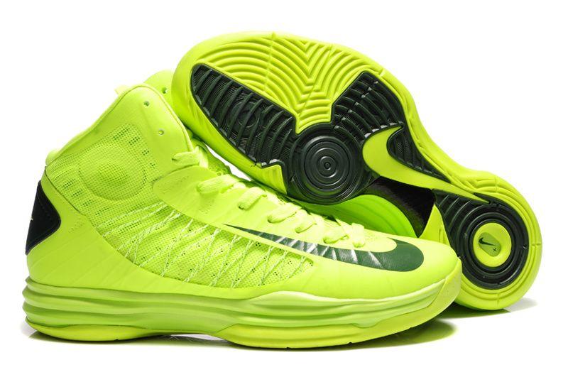 the latest 359c7 98a4e Nike Lunar Hyperdunk Team Brazil Volt Gorge Green 535359 700 Hyper Shoes  2013