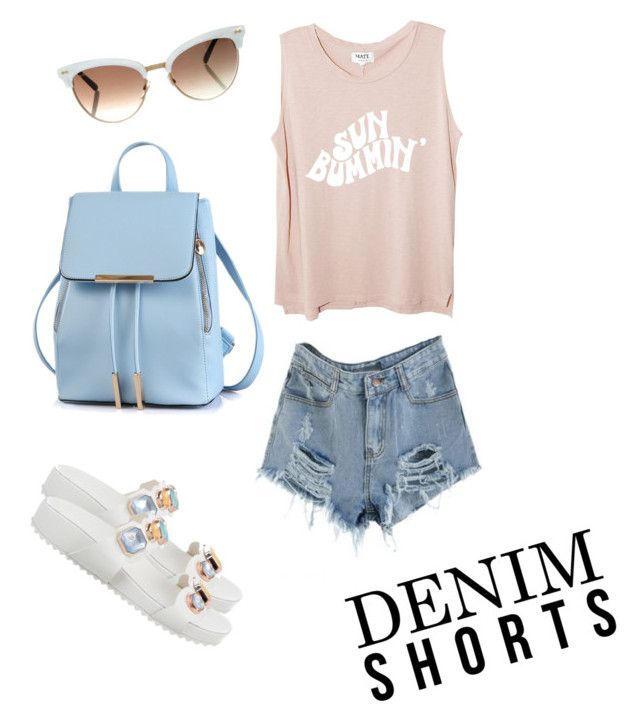 """""""Summer bum."""" by damelaraine on Polyvore featuring Sophia Webster and Gucci"""