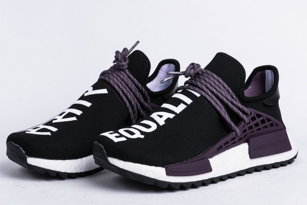BUY Pharrell X Adidas NMD Hu Trail Core Black | Kixify
