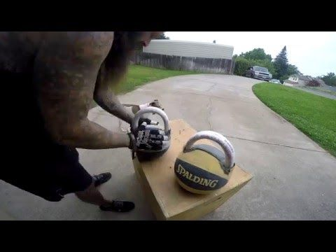 DIY KETTLEBELL SET FOR 20$ - YouTube | Health and Fitness stuff