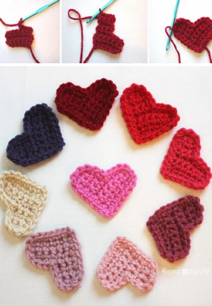 Easy Crochet Heart Pattern Got Me In Stitches Easy Crochet Free