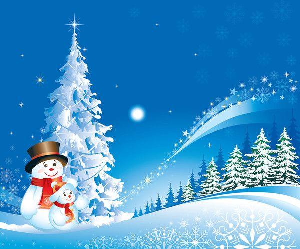 Noel Fond Ecran Page 35 Christmas Scenes Christmas Pictures Snowman Wallpaper