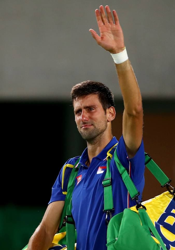 Novak Djockovic, Rio 2016