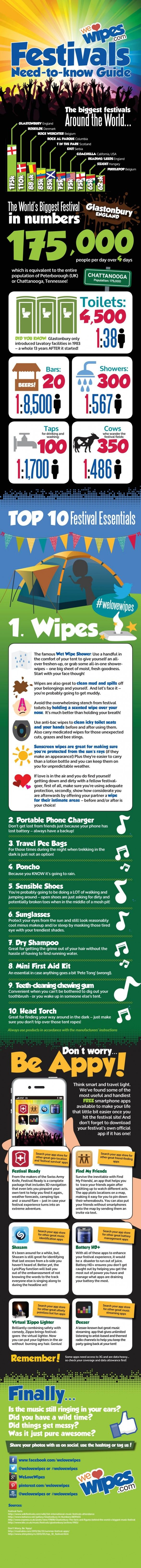 Festival Survival -  need to know guide