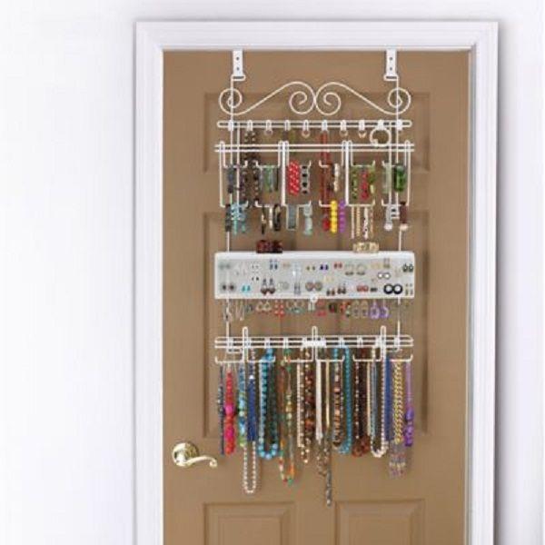 Over The Door Organizational Mirror | Door Designs Plans