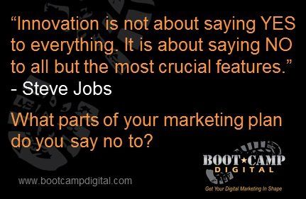 Steve Jobs on Innovation