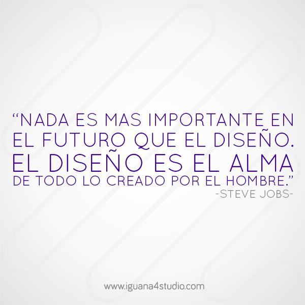 Frase Steve Jobs Quote #Design