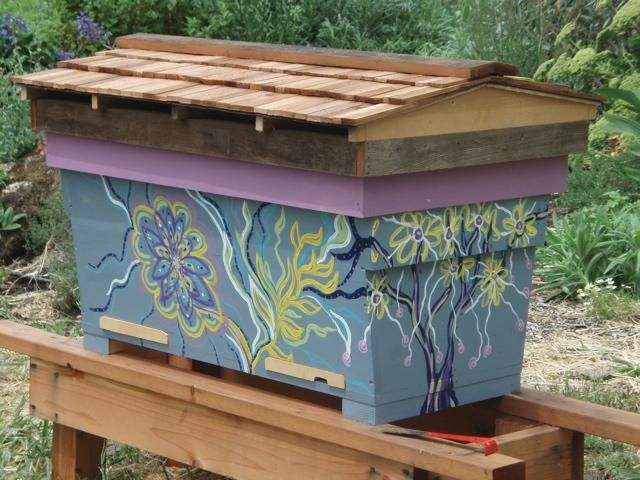 Top Bar Hive It Provides All The Features Of A Natural Comb Bee Hive. Top