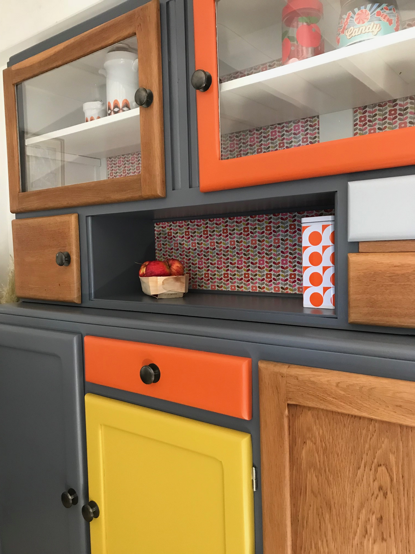 Buffet mado l andre 4 relook 39 meubles en 2019 meuble mado mobilier de salon et buffet mado - Renovation de meubles ...