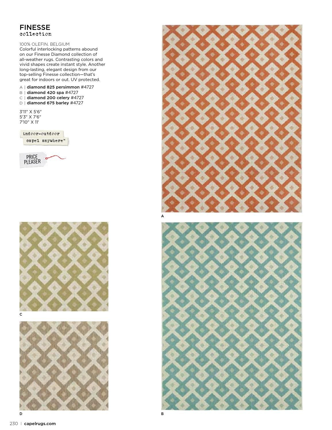 Outdoor rugs ISSUU - Capel Rugs Catalog 2014 by Capel Rugs